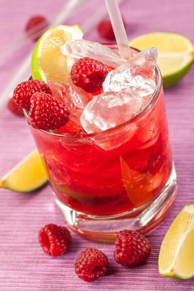 cran-raspberry lemonade